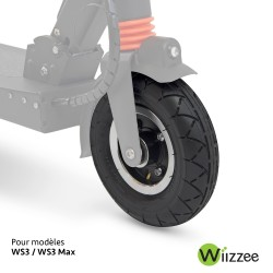 Complete front wheel - WS3
